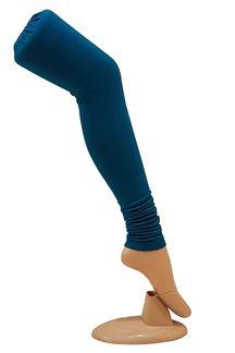 Picture of Royal blue color cotton leggings