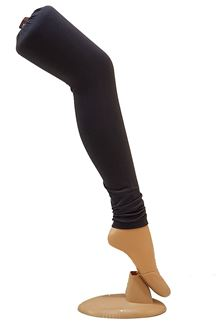 Picture of Lavishing black color cotton leggings