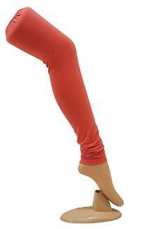 Picture of Ravishing light peach cotton leggings