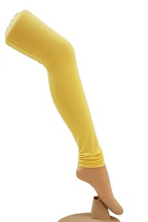Picture of Outstanding lemon yellow leggings