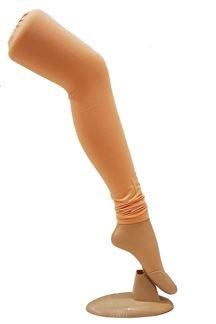 Picture of Mesmerising light peach cotton leggings