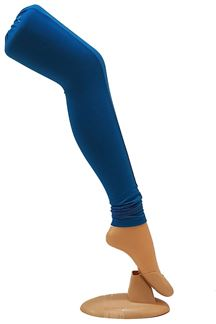 Picture of Wonderful blue color cotton leggings