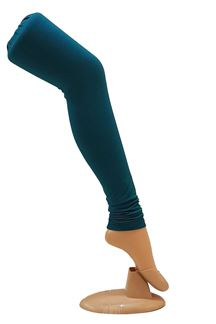 Picture of Dashing wear peacock blue leggings