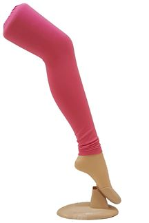 Picture of Attractive pink color cotton leggings