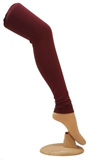 Picture of Traditional maroon colored leggings