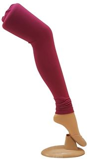 Picture of Gorgeous pink color cotton leggings