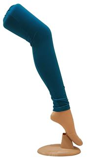 Picture of Glamorous blue color cotton leggings